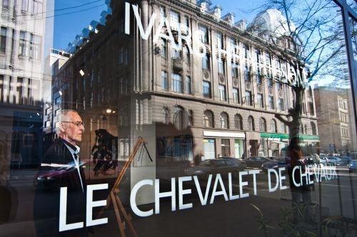 Ivars Heinrihsons. Le Chevalet de Chevaux. 2012. Riga, Photo: Renars Derrings