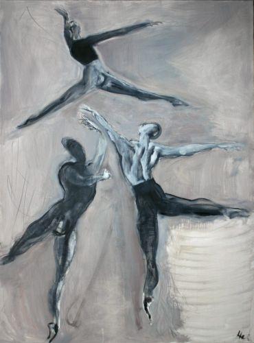 Trīs 2009, audekls/eļļa, 198x147