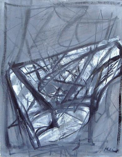 Mazais flīģelis 2004, audekls/eļļa, 92x73