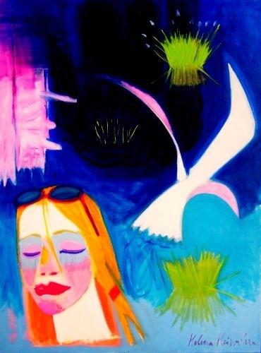 Atspīdumi 2010, audekls/eļļa, 198x145