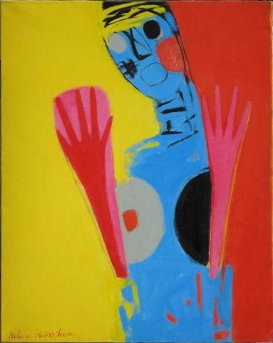 Roku vērotāja 1998, adekls/eļļa, 89x71