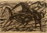 The Horse Code II 2007, Indian ink on paper, 60x83