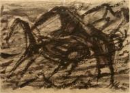 Zirga kods. II 2007, papīrs/tuša, 60x83