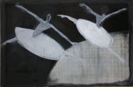 Mazais balets 2009, audekls/eļļa, 97x146