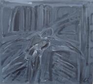 Pilsētā 2002, audekls/eļļa, 90x100