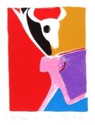 Skrējējs 2004, papīrs/litogrāfija, 23x17