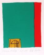 Vasaras vārti 2004, papīrs/litogrāfija, 23x17