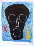 The Black 2001, lithography on paper, 66x49