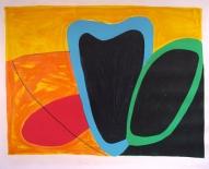 Melnā roze 2002, papīrs/litogrāfija, 56x68