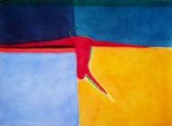Uz krastu 2003, papīrs/ akvarelis, 57x77