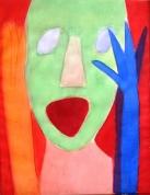 Trillers 2003, papīrs/akvarelis, 56x43