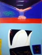 Gulbju vērotājas 2005, audekls/eļļa, 146x114