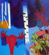 Lielais purvs 2010, audekls/eļļa, 200x200