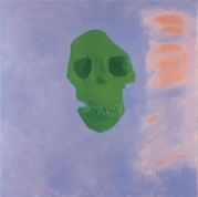 The Green 2007, oil on canvas, 130x130