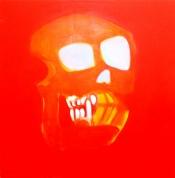Oranžais 2007, audekls/eļļa, 130x130