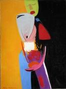 Karmena. Sieviete 2002, audekls/eļļa, 130x97